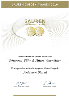Sauren Golden Awards